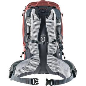 deuter Trail Pro 30 SL Backpack Women redwood/graphite